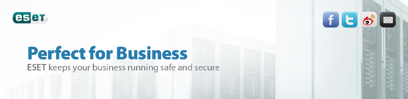 Perfect for Business ESET keeps your business running safe and secure