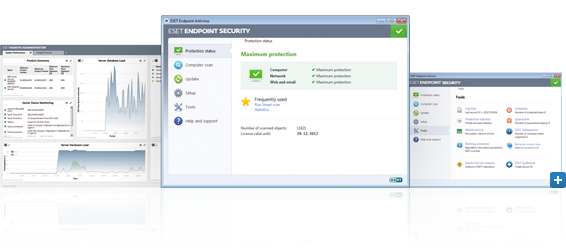 Open Screenshot Gallery for ESET Endpoint Security Solutions - Beta