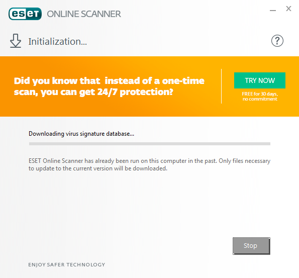 ESET Online Scanner Beta